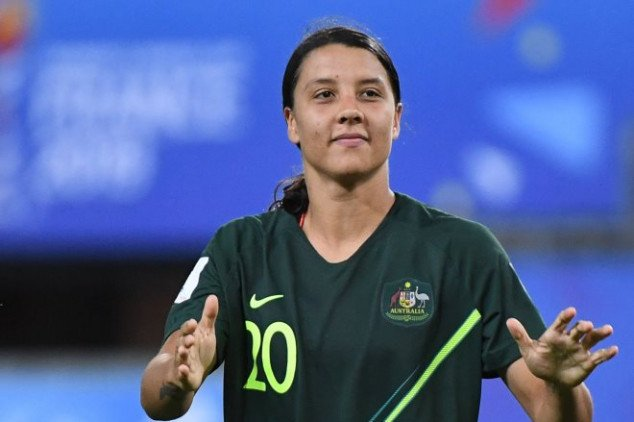 Sam Kerr makes FIFA WC history with four goals
