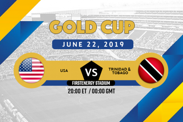 USA vs Trinidad & Tobago broadcast information