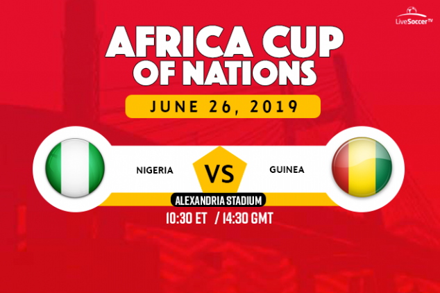 Nigeria vs Guinea broadcast information
