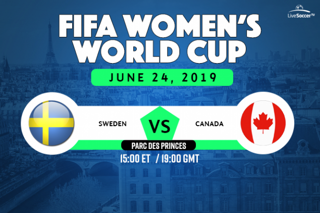 Sweden vs Canada viewing info