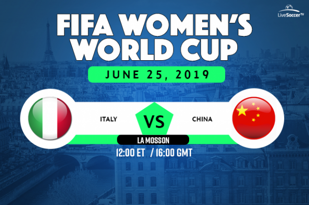 Italy vs China viewing info