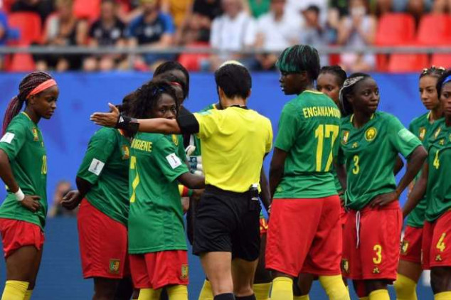 FIFA WWC: Cameroon risks sanction after VAR fracas