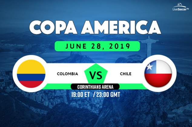 Colombia vs Chile broadcast information