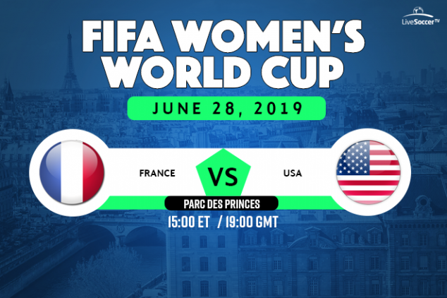 France vs USA viewing info