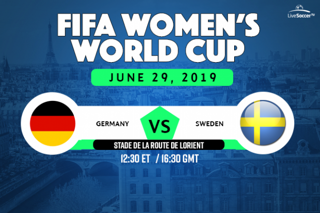 Germany vs Sweden viewing info