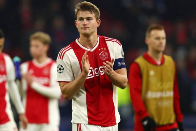 WC winner with France aims dig at De Ligt