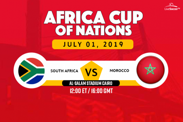 South Africa vs Morocco broadcast information
