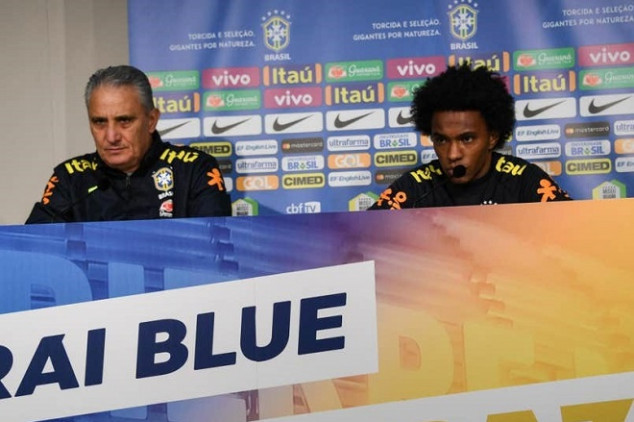 Tite and Willian worry Brazil ahead of Copa Final