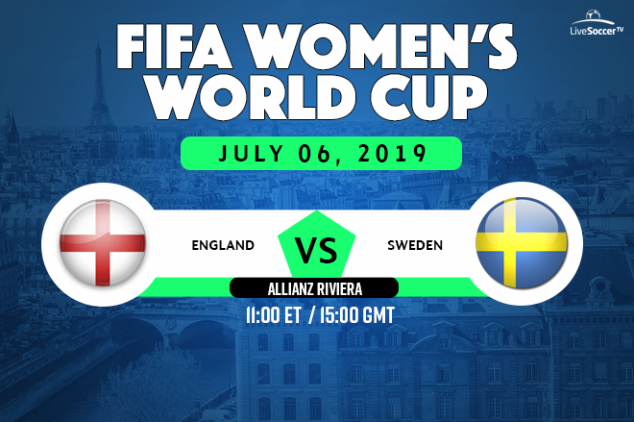 England vs Sweden viewing info
