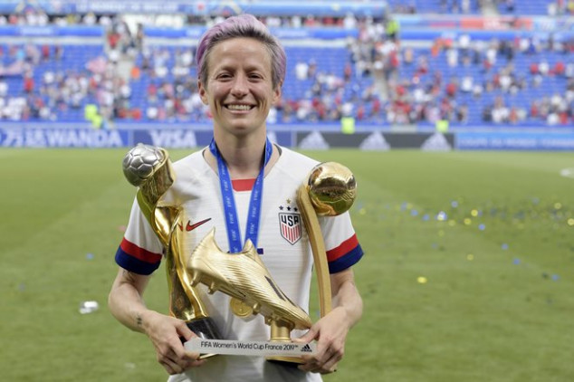 All the award winners at 2019 FIFA Women's WC