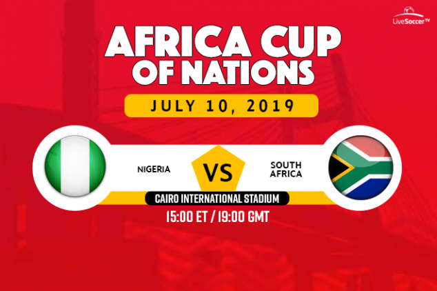 Nigeria vs South Africa broadcast information