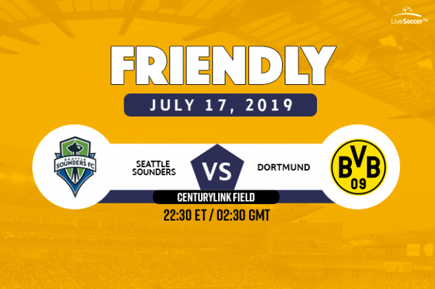 Seattle Sounders FC vs BVB viewing info