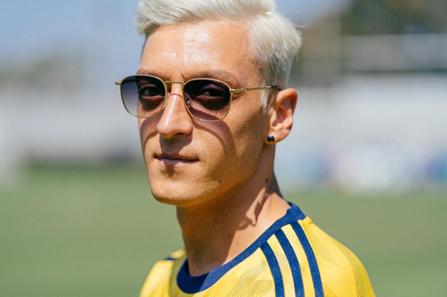 Ozil explains why he went blond