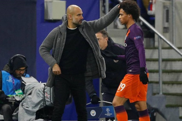 Pep aims dig at Sané over Bayern transfer rumors