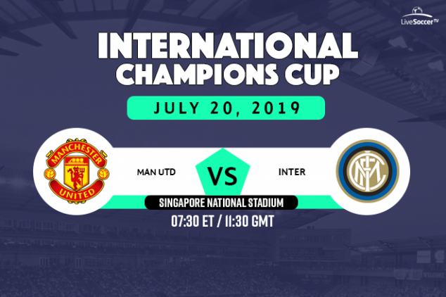 Manchester United vs Inter Milan broadcast info