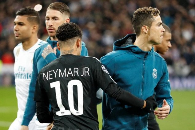 Neymar heaps praise on  Real Madrid stars