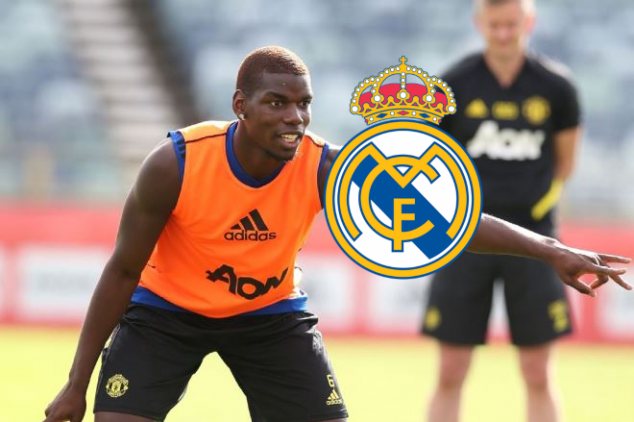 Zidane reveals when Pogba move could be completed