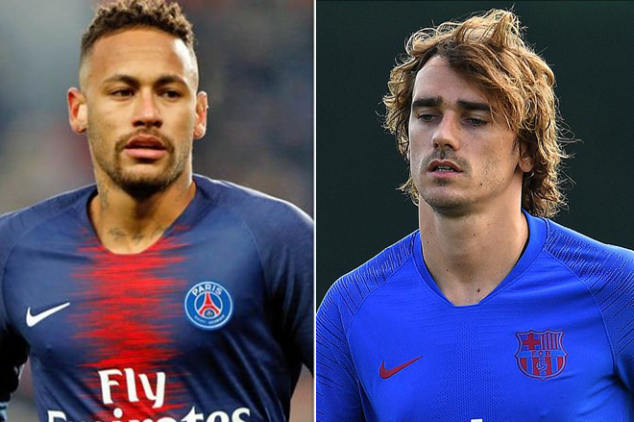 Griezmann opens up about Neymar rumors