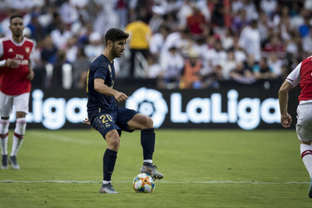 Real Madrid reveal extent of Asensio's injury