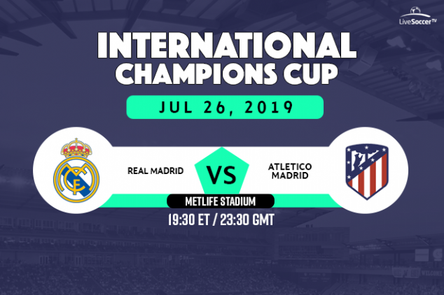 ICC 2019 - R. Madrid vs Atlético broadcast info