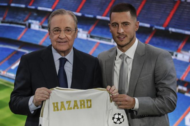 Madrid president left frustrated by Hazard's form