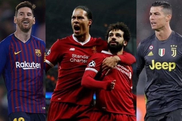 Liverpool dominates FIFA's The Best shortlist
