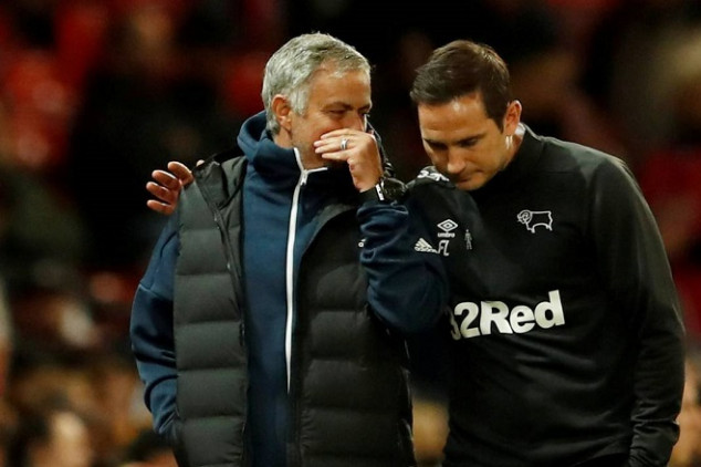 Mou offers Lampard word of advice ahead of debut