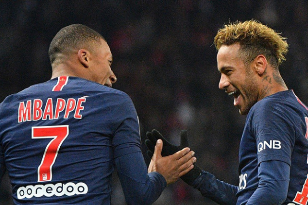 Mbappe sends message to Neymar