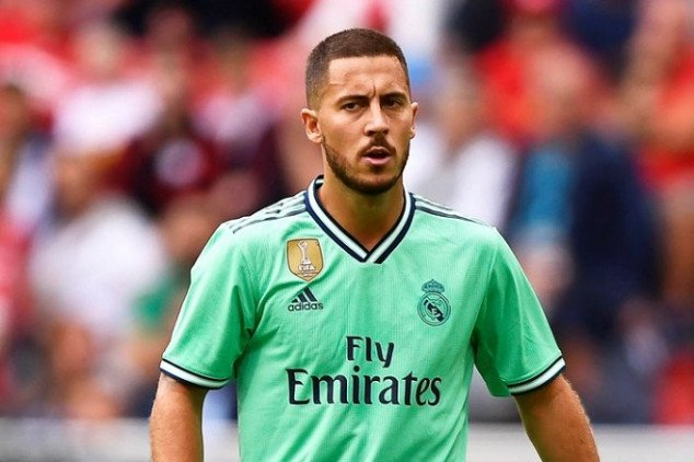 Watch; Hazard scores first goal for Real Madrid