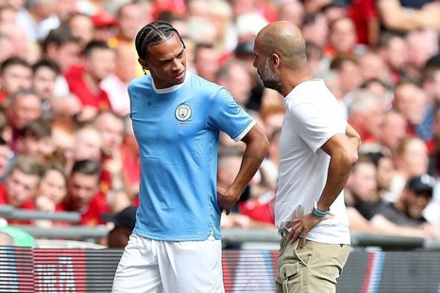Sané set to stay at Man City following knee injury