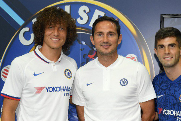 Lampard opens up about Luiz's Arsenal switch