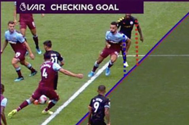 Man City make VAR history in the EPL