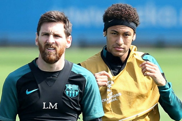 Messi phones Neymar in bid to lure player to Barca