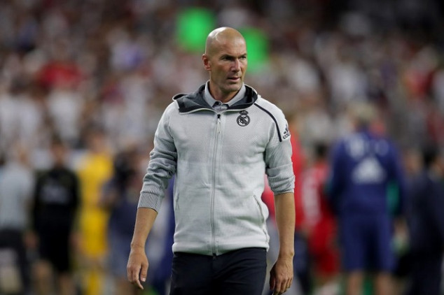 Zidane considering second exit from Real Madrid
