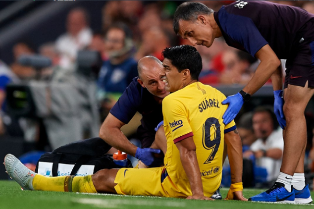 Suárez has woeful start of La Liga due to injury