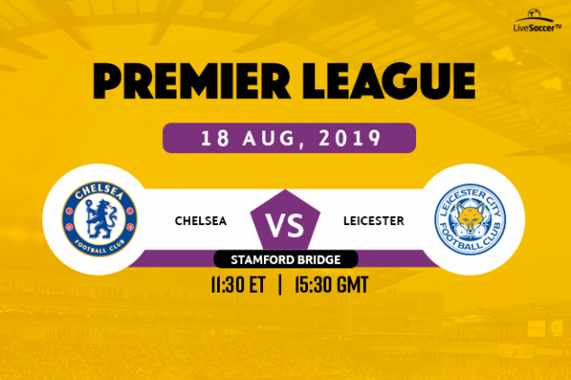 Chelsea vs Leicester City viewing info