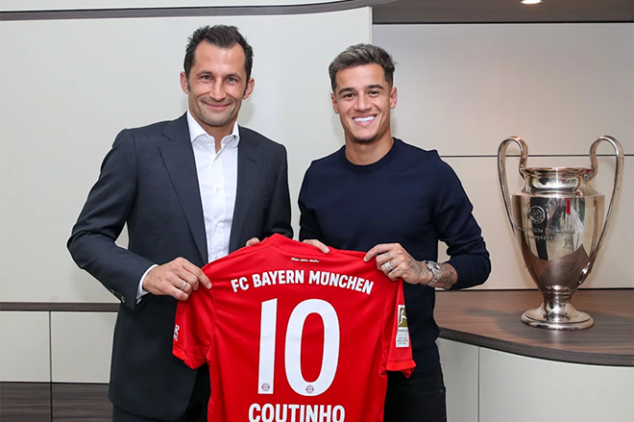 Official: Coutinho joins Bayern on loan