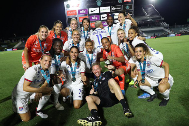 Lyon win Women's ICC with stunning goal