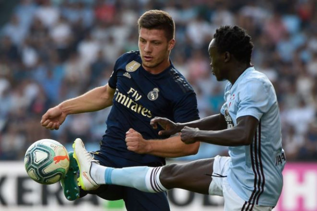 Jovic addresses claim of loan move from Madrid