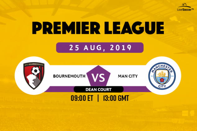 Bournemouth vs Man City broadcast info