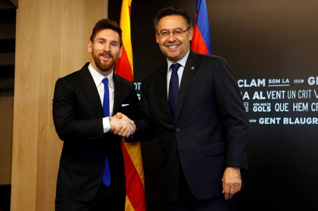 Messi reportedly mad at Barça president