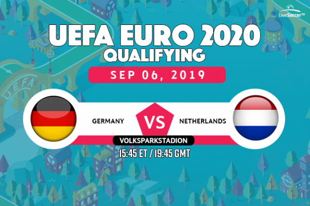 Germany vs Netherlands viewing info