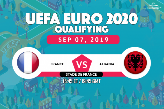France vs Albania viewing info