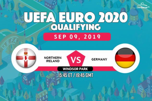 Northern Ireland vs Germany viewing info