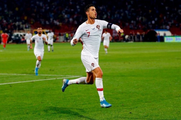 CR7 makes history in UEFA Euro Qualifiers