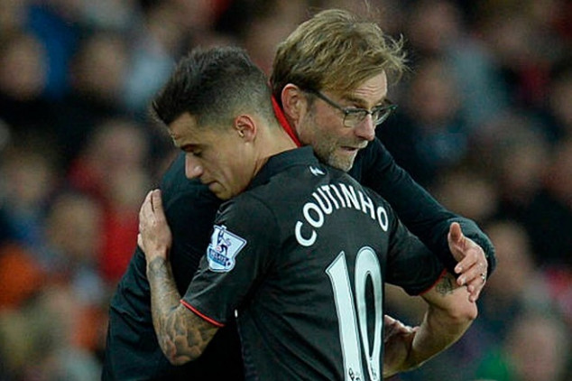 Coutinho reveals contents of texts with Klopp