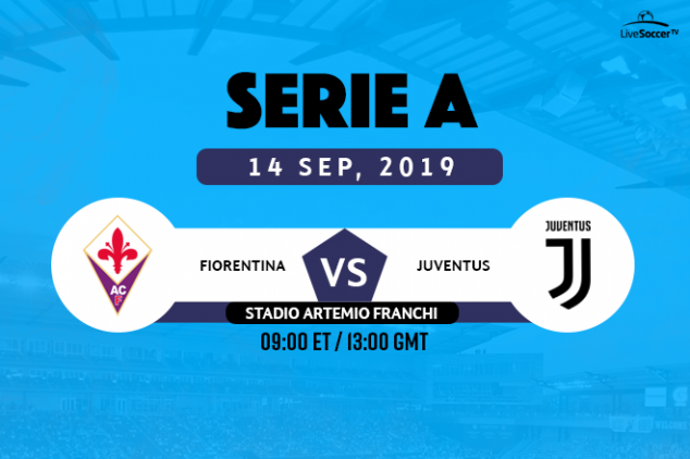 Fiorentina vs Juventus viewing info