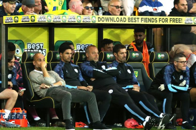 Pep defends Man City stars after Norwich defeat