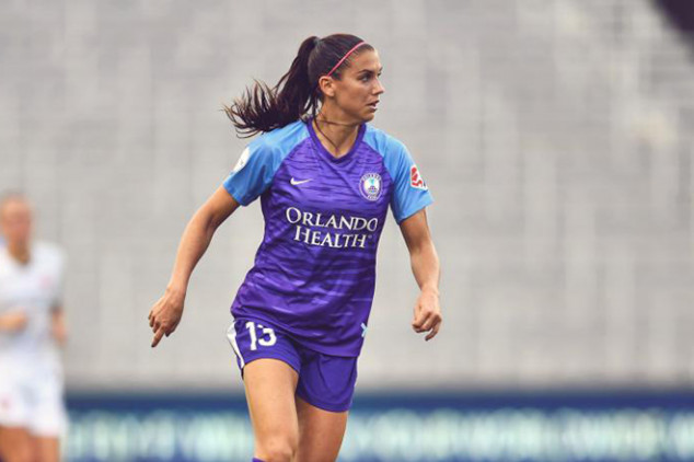 Alex Morgan ruled out for remainder of the season