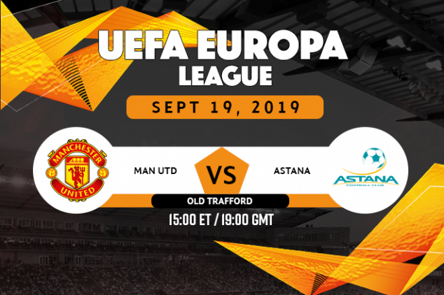 Manchester United vs Astana broadcast information